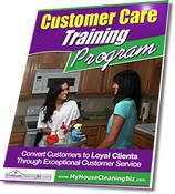 Programa de capacitación en atención al cliente para empresas de limpieza residencial
