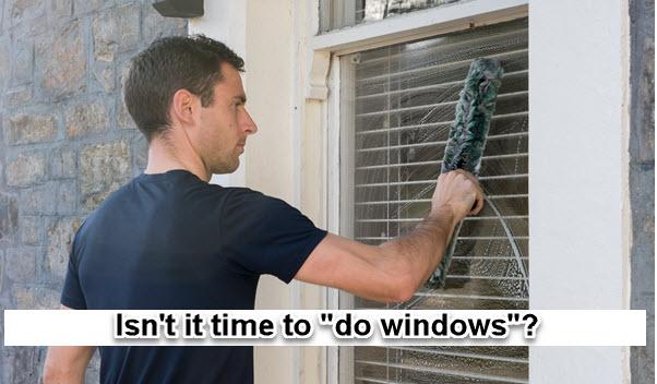 Obtenga ayuda para comenzar con la limpieza de ventanas