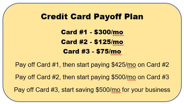 ¿La deuda de tarjetas de crédito le impide hacer crecer su negocio de limpieza del hogar?