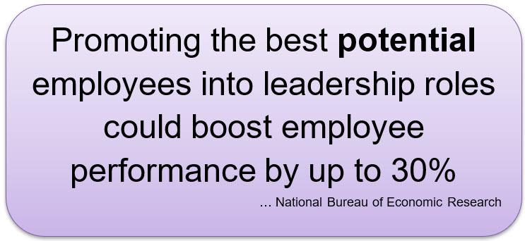 Promocionar empleados de alto rendimiento (HIPO) en lugar de empleados de alto potencial