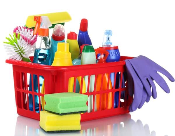 Lista de suministros de limpieza