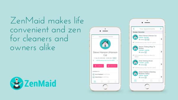 Software empresarial de limpieza Zenmaid