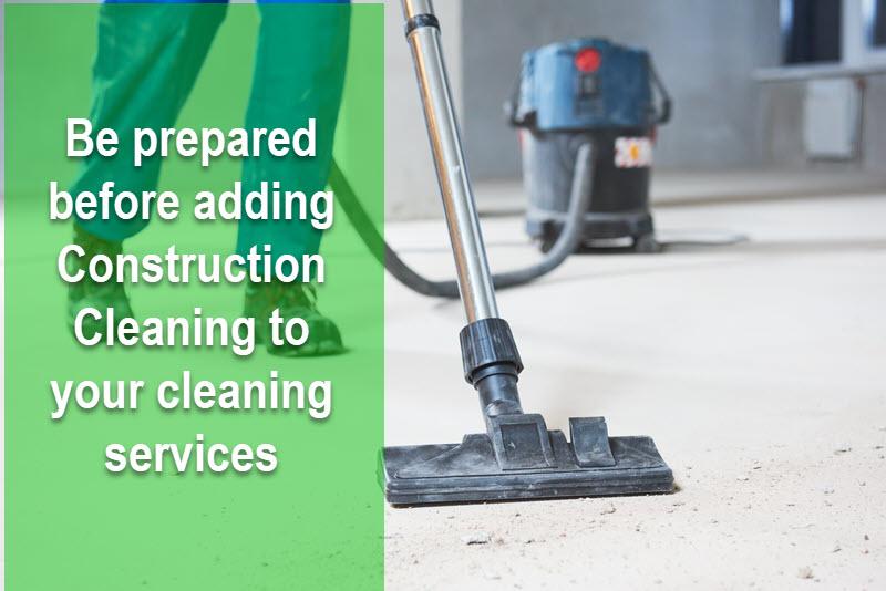 Por qué agregar servicios de limpieza de construcción