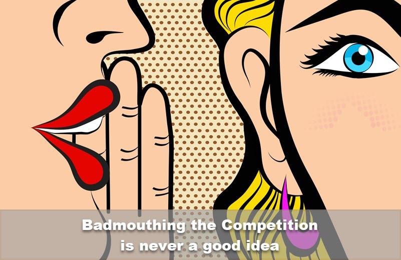 8 razones por las que hablar mal de la competencia es una mala idea