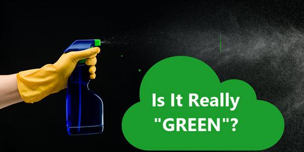 ¿Sabes qué productos químicos de limpieza son realmente